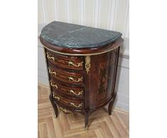 Commode baroque Cabinet Louis XV style antique MkKm0088Gn
