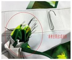 3D cheval Impression UV Motif rideau occultant la personnalité de 2 panneaux, Taille totale 152,4 x 166,4 cm + crochets Design Paysage Vue pour chambre salon Rideaux pour chambre