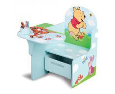 Delta Children - TC83928WP - Winnie lOurson - Chaise avec Tablette