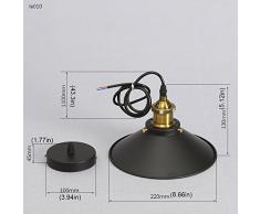 Métal Retro Suspensions Luminaires Industrielle Vintage Plafonniers Lustre Edison Culot E27 Eclairage de Plafond Suspensions Plafonniers Luminaire