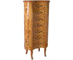 Nierenkommode Baroque Bois Commode Antique Marqueterie Armoire Commode Haute 118cm cat150f99a Palazzo Exclusif