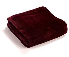 Fashion&Joy Plaid en flanelle ultra doux XL ou XXL - Plaid douillet disponible dans de nombreuses couleurs tendance - Couverture en microfibre d'excellente qualité - non pelucheux - Norme Öko-Tex - Couverture de canapé