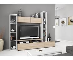 un meuble tv mural votre go t livingo. Black Bedroom Furniture Sets. Home Design Ideas
