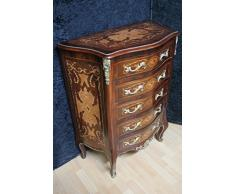Commode baroque Cabinet Louis XV style antique MkKm0042A