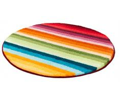 Meusch 2867148518 Funky Tapis de Bain Rond 80 cm Multicolore