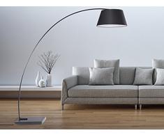 Lampadaire Design - luminaire - Lampe de Salon - Noir - Benue