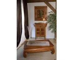 Table Basse Design Opium 110x60cm en Teck