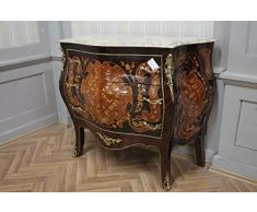 Commode baroque Cabinet Louis XV style antique MkKm0053Bg