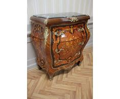 Commode baroque Cabinet Louis XV style antique MkKm0105Gn