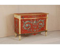 Commode Louis XV de fresques, déchirure-fresque