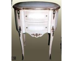 Dynamic24 armoire commode de style baroque blanc moCoC03982 louis xV
