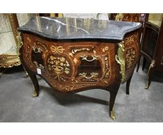 Commode baroque Cabinet Louis XV AaKm0158 de style antique