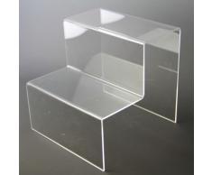Étagère escalier en acrylique