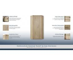 """Armoire d'angle """"Kontich"""" 08, Couleur: Chêne Sonoma - Dimensions: 85 x 212 x 85 cm (L x H x P)"""