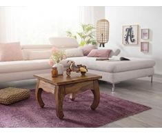 KS-Furniture Opium Table Basse en Bois Massif Sheesham 60 cm de Large