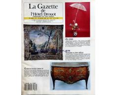 GAZETTE DE LHOTEL DROUOT (LA) [No 4] du 26/01/1990 - JOE JONES - STREET PIECE FOR A CLOCHARD - TAPISSSERIE DU 17EME SIECLE - ORPHEE ET LAMOUR - LES GOBELINS - COMMODE EPOQUE LOUIS XV EN BOIS DE PLACAGE MARQUETE
