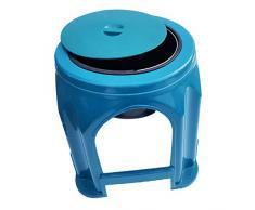 Folding Commode Chair with Siège de Toilette Amovible Vieille Toilette Toilettes Femme Enceinte Adulte Portable Tabouret siège Amovible de Toilette en Plastique