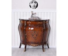 Baroque Commode Marqueterie Commode Console Bois Massif Antique Armoire Palazzo Exclusif