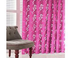 Youdong 1pc Rideau de Tulle Voilage Chambre à Coucher Rideau Passe-Tringle décoratif d'intérieur Ultra Fin et élégant Sheer Curtains Voile Rideaux la Maison Salon Chambre