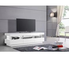 Meuble TV design blanc