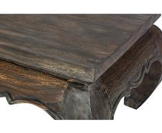 Handelsturm Table Basse Opium 30 x 30 x 23 cm à partir de Bois Massif
