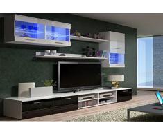 Un meuble tv mural votre go t livingo for Finlandek meuble tv mural katso 160 cm coloris blanc et noir