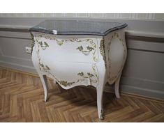 Commode baroque Cabinet Louis XV AaKm0137 de style antique