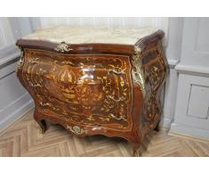 Commode baroque Cabinet Louis XV style antique MkKm0097Bg
