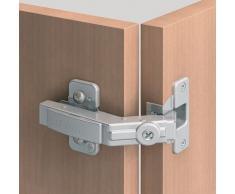 Blum Charnière Clip Top 60° pour armoire d'angle et porte pliante avec ressort, lames et vis, 1 pièce, 6466533