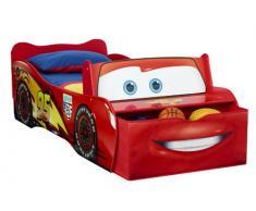 Worlds Apart 452LMN - Lit enfant Disney Cars Flash McQueen, avec rangement, Rouge