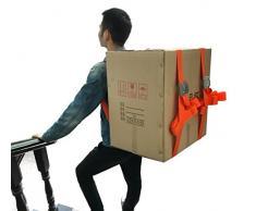 Treasure-house 1- personne Sangles de levage et d'artistes, facilement pour le transport de meubles/réfrigérateur/Appliance/matelas/objets lourds, avec plus de l'épaule levage Aid Système de ceinture