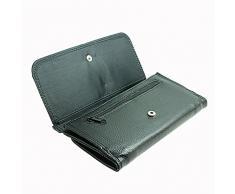 Portafoglio Borsellino portafoglio // M00156017 Draps de linge de lit coloré Plié // Large Size Wallet