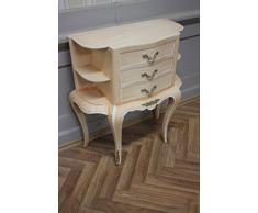 Commode baroque Cabinet Louis XV AaKm0153 de style antique