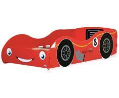 Lit pour enfant en forme de voiture de course
