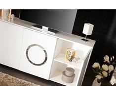 Enfilade design ZEINE - blanc
