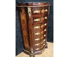 Commode baroque Cabinet Louis XV style antique MkKm0053Gn