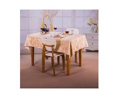MWPO Nappe Rectangulaire Elégante Et Romantique Rectangulaire pour Buffet Tables, Fêtes, Dîners, Mariages, Etc Fleur De Pivoine (Taille: 90cm * 150cm)