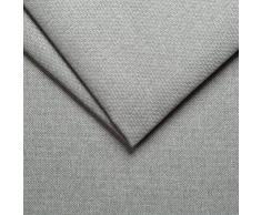 Arketicom Neuf FU-TOUF Un Pouf Mou Qui Devient Lit Pliant ou Fauteuil Pliable pour Invité Chambre Puff en Tissu Futon Rembourré en Boules de Polystyrène 63x63x45 /190x63x15 (Gris Clair)