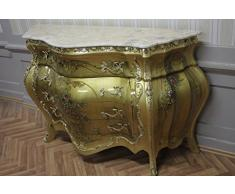 Commode baroque Cabinet Louis XV style antique MkKm0118