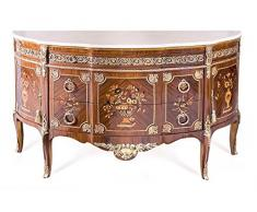LouisXV Buffet baroque commode de style antique buffet Rococo MoBa0539