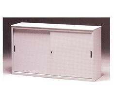 Au cours de l'armoire, placard de rangement à portes coulissantes cm. 180x45x85H