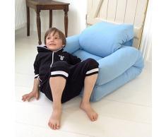 MDS LITTLE HIPPO, un fauteuil hyper malin qui se transforme en lit futon en quelques secondes - déco et design - Fauteuil Natural/Bouton Natural