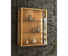 vitrine murale acheter vitrines murales en ligne sur livingo. Black Bedroom Furniture Sets. Home Design Ideas