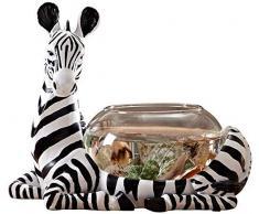 ZHUYUE Magnifique Bureau Aquarium Table Fish Tank Décoration Humidification Paysage Naturel Décoration dintérieur Fontaine (Taille: 27x16x23cm) (Size : 27x16x23cm)