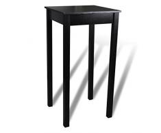 vidaXL Table bar table haute de cuisine 55 x 107 cm
