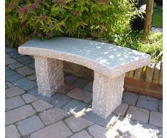 un banc en pierre pour votre jardin livingo. Black Bedroom Furniture Sets. Home Design Ideas