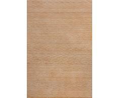 Vitrine d'angle en Verre - Vitrine sur Pied - Modèle spécial pin Massif - Caramel