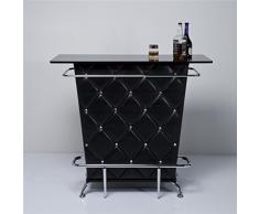 XTRADEFACTORY Meuble bar (Noir)