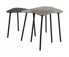 Kare 79437 Table Basse Loft Triangle Vintage (3/Se