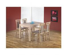 JUSThome Table de salle ? manger extensible Maurycy en Bois Ch?ne (LxlxH): 118÷158/75/76 cm